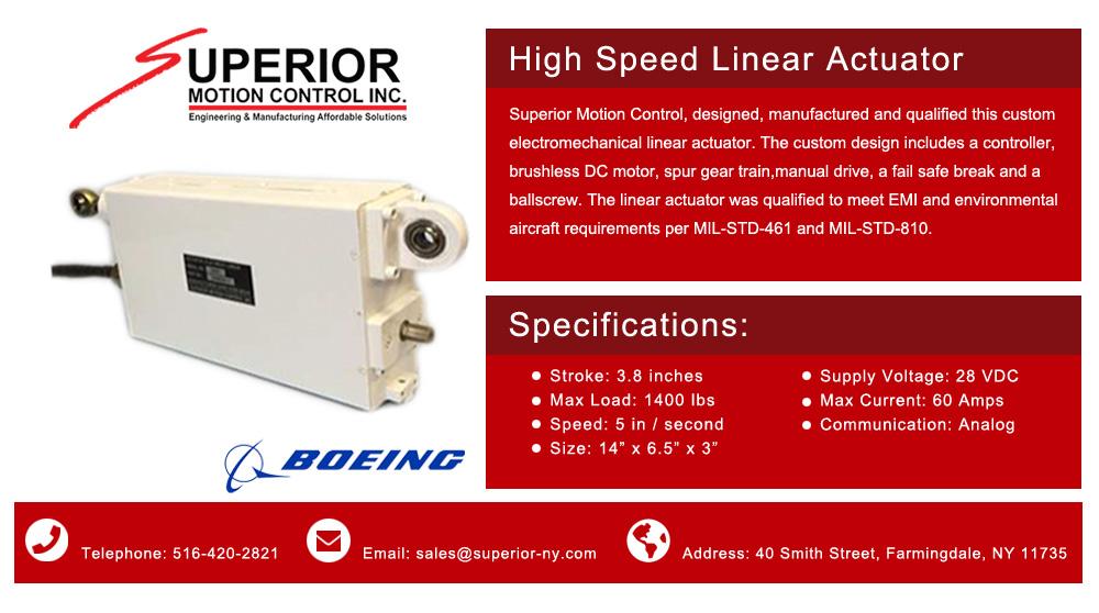 Superior Motion Control - Aerospace