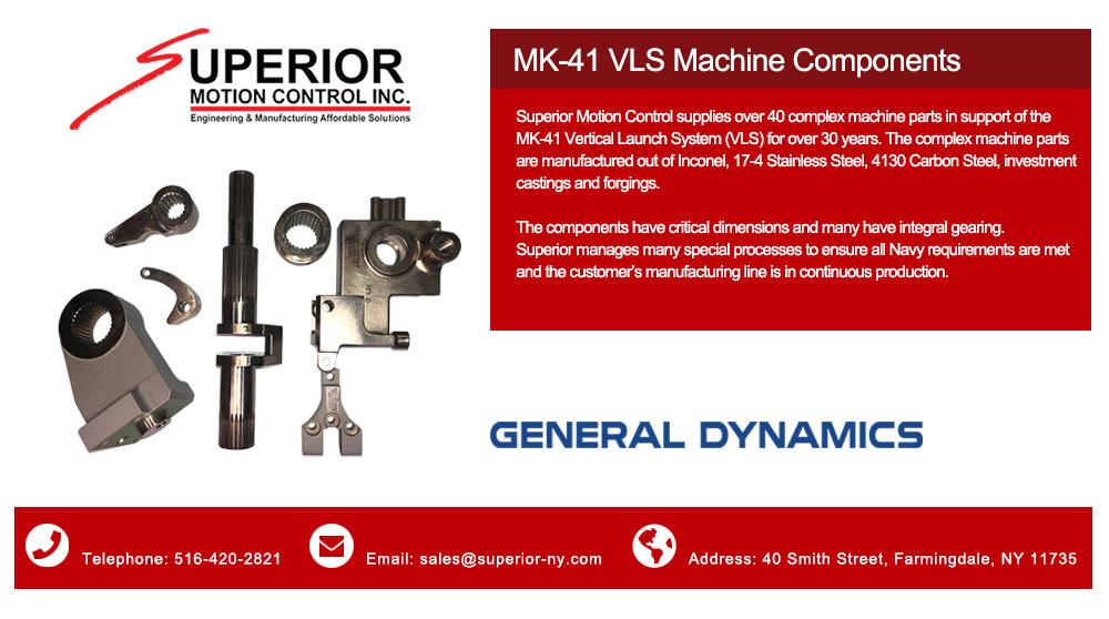 Superior Motion Control - General Dynamics